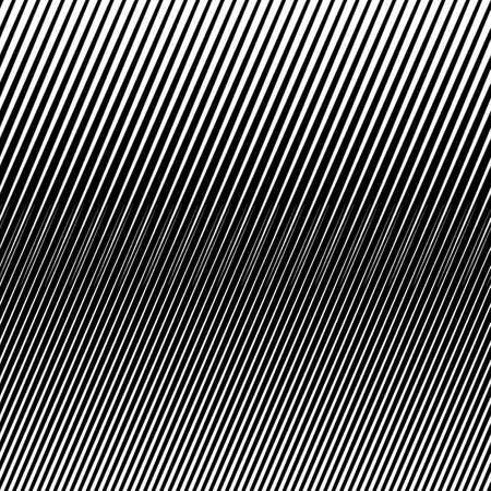 Diagonal sharp lines abstract background. Seamless surface pattern design with linear ornament. Stripes motif. Image with slanted rays. Striped digital paper. Hatched illustration. Optical art. Vecteurs