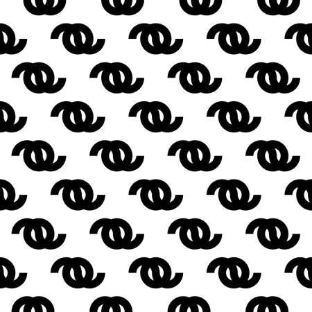 Figures seamless ornament. Ethnic pattern. Folk wallpaper. Tribal motif. Simple forms background. Geometrical shapes backdrop. Digital paper, textile print, abstract illustration. Vector artwork