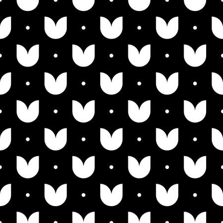 Mini circles, figures seamless pattern. Geometrical print. Dots, floral shapes ornament. Ethnic wallpaper. Folk background. Tribal backdrop. Vector artwork. Digital paper, textile print, abstract.