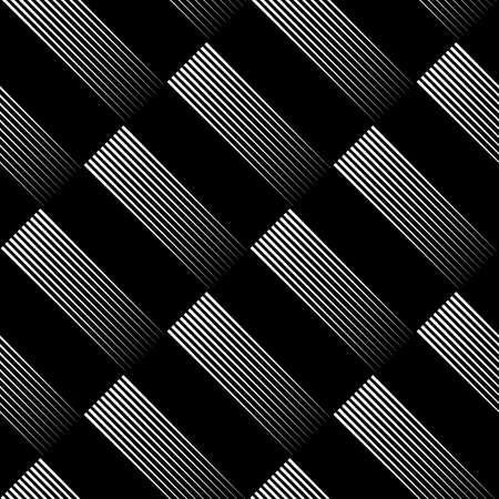 Diagonal lines seamless print. Striped background. Linear pattern. Abstract ornament. Stripes motif. Strokes wallpaper. Modern halftone backdrop.