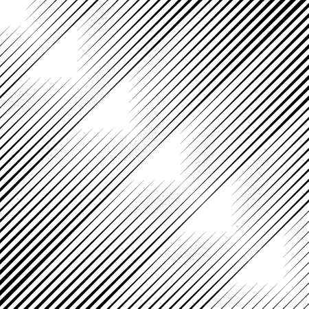 Lines pattern. Diagonal stripes ornate. Striped image. Linear background. Strokes ornament. Abstract wallpaper. Modern halftone backdrop. Digital paper, web design, textile print. Vector art.