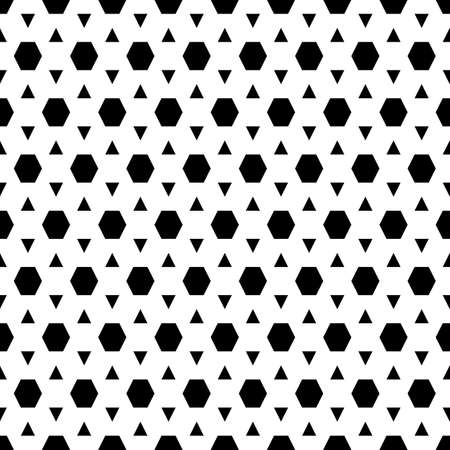 Hexagons. Honeycomb. Mosaic. Grid background. Ancient ethnic motif. Geometric grate wallpaper. Polygons backdrop.Seamless ornament pattern. Abstract art.