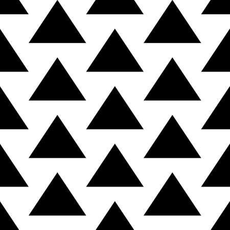 Triangles. Pyramid backdrop. Arrowheads background. Geometrical figures. Arrows motif. Polygons wallpaper. Ethnic illustration. Digital paper, textile print, web art. Seamless vector abstract pattern. Illusztráció