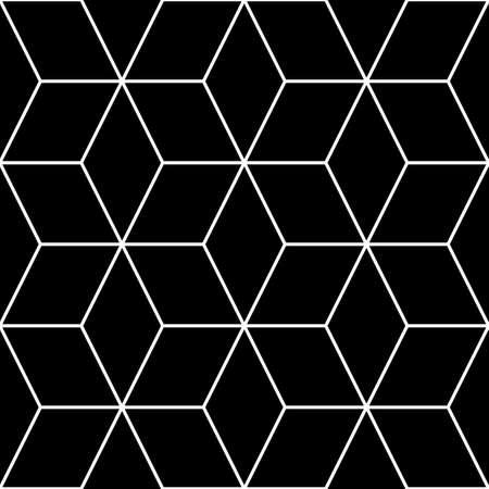 Mosaic. Rhombuses ornament. Grid background. Ancient ethnic motif. Geometric grate wallpaper. Grid backdrop. Digital paper, web design, textile print. Lozenges pattern. Seamless abstract illustration.