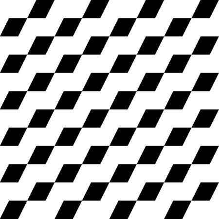 Diamonds ornament. Lozenges illustration. Rhombuses background. Ethnic wallpaper. Mosaic motif. Polygons backdrop. Geometric art. Digital pape, textile print, web design. Seamless vector pattern image