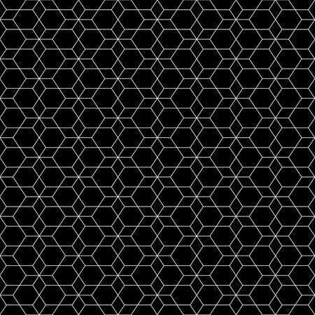 Rhombuses, hexagons, diamonds, lozenges. Mosaic. Grid background. Ethnic tiles motif. Geometric grate wallpaper. Polygons backdrop. Digital paper, web design, textile print. Seamless abstract pattern.