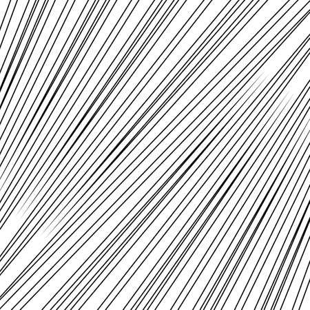 Diagonal striped illustration. Repeated color slanted lines background. Surface pattern design with linear ornament. Colorless disco lights motif. Stripes wallpaper. Angle rays. Pinstripes vector art.