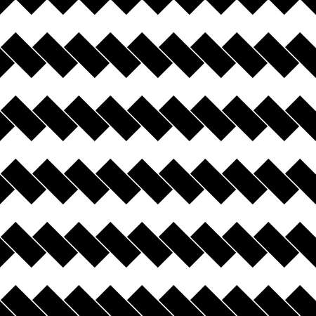 Black diagonal dashes abstract on white background. Seamless surface pattern with linear ornament. Angled broken strokes motif. Slanted stripes. Striped digital paper for print. Dashed lines vector.