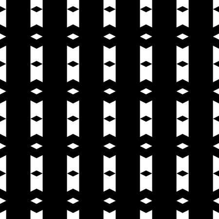 Ethnic motif. Seamless pattern. Figures, rhombuses ornament. Folk wallpaper. Simple shapes background. Geometric backdrop. Digital paper, textile print, web design, abstract. Ilustracja