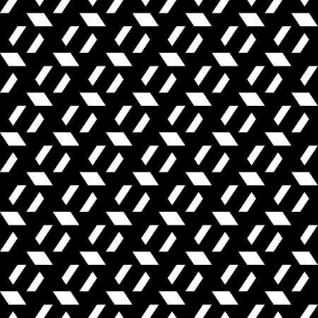 Seamless pattern. Quadrangles background. Parallelograms, trapeziums ornament. Geometric backdrop. Polygons wallpaper. Figures motif. Digital paper, textile print, web designing, abstract. Vector art Иллюстрация