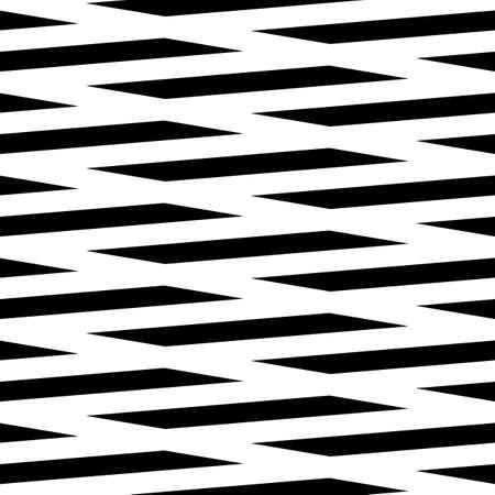 Diagonal lines seamless pattern. Angled stripes ornament. Linear motif. Pinstripes print. Striped background. Tilted line shapes wallpaper. Slanted stripe figures backdrop. Vector illustration