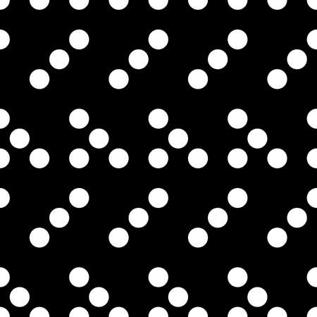 Dots seamless pattern. Circles ornament. Dot shapes motif. Circle forms backdrop. Dotted wallpaper. Rounds background. Digital paper, textile print, web design, abstract image. Vector illustration.