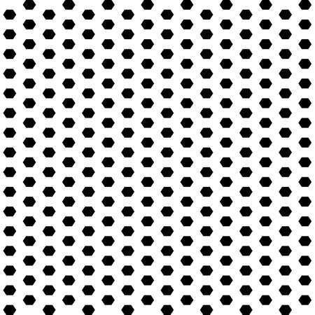 Hexagons. Polka dot. Grid background. Ancient ethnic mosaic. Geometric grate wallpaper. Geometrical backdrop. Digital paper, web design, textile print. Seamless ornament pattern. Geometry abstract art