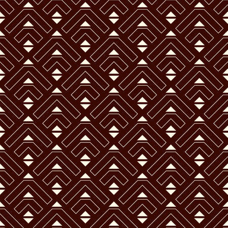 Arrows, scales seamless pattern. Ethnic, tribal print. Squama, chevrons ornament. Repeated arrowhead, triangular shapes background. Native americans ornamental wallpaper. Vector abstract digital paper Illusztráció