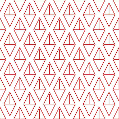 Diamonds, rhombuses, lozenges, tiles seamless pattern. Retro motif. Geometrical background. Ethnic ornate. Geometric image. Folk ornament. Ethnical textile print. Tribal wallpaper. Abstract vector