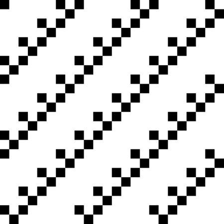 Checks ornament. Squares illustration. Geometrical background. Tiles wallpaper. Geometric ornate. Ethnic motif. Seamless pattern. Digital paper, textile print, web design, abstract image. Vector art.