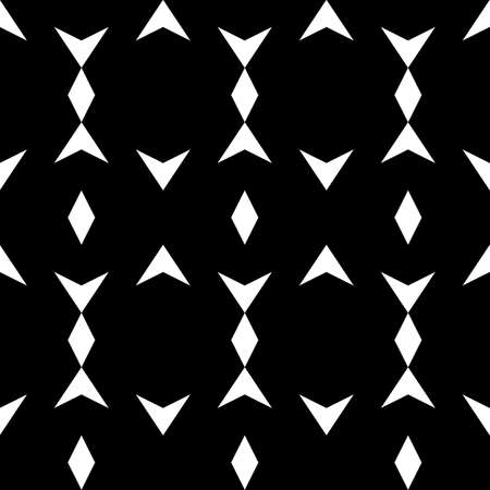 Seamless pattern. Geometrical backdrop. Rhombuses, figures ornament. Simple shapes background. Geometric wallpaper. Polygons motif. Digital paper, textile print, web design, abstract. Vector artwork.