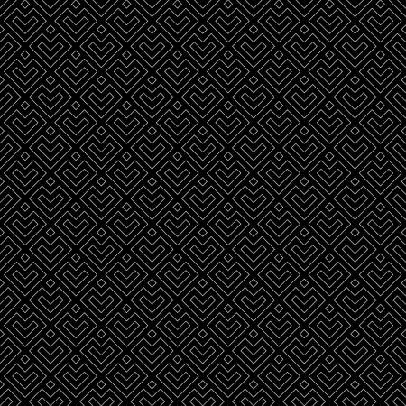 Arrows wallpaper. Japanese mountains motif. Ancient mosaic backdrop. Oriental pattern background. Ethnic ornament. Folk image. Digital paper, textile print, web design. Seamless art illustration.