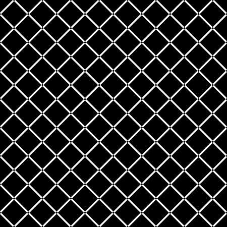 Seamless pattern. Checks motif. Geometric background. Rhombuses ornament. Diamonds wallpaper. Tilted strokes grid. Digital paper, textile print, web design illustration, abstract backdrop. Vector art Иллюстрация