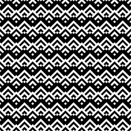 Seamless pattern. Textile print. Curves, squares backdrop. Chevrons, checks ornament. Angle brackets, diamonds background. Ethnic mosaic. Figures, tiles abstract. Folk wallpaper. Tribal motif. Vector