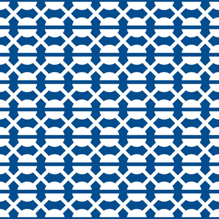 Grid seamless pattern Ethnic ornament. Tribal motif. Grate background. Folk image. Geometric ornate. Digital paper, geometrical textile print, web design, abstract illustration. Vector artwork. 벡터 (일러스트)