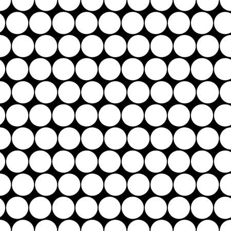 Circles pattern. Dots seamless ornament. Dot motif. Circular figures backdrop. Rounds background. Dotted wallpaper. Digital paper, textile print, abstract image, web design, vector illustration 矢量图像