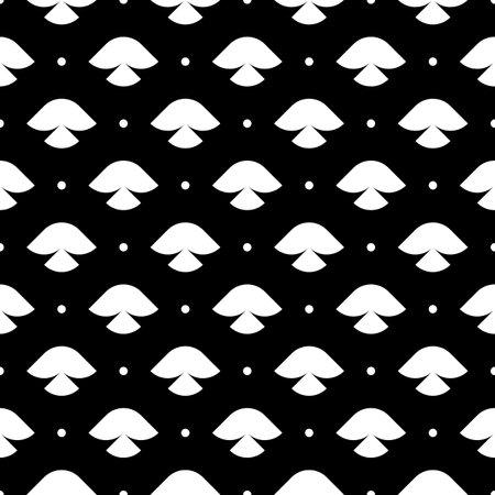 Dots, figures seamless pattern. Geometrical print. Mini circles, shapes ornament. Ethnic wallpaper. Folk background. Tribal backdrop. Vector artwork. Digital paper, textile print, abstract image