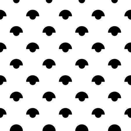 Figures seamless pattern. Ethnic ornament. Folk wallpaper. Tribal motif. Simple forms background. Geometrical shapes backdrop. Digital paper, textile print, abstract illustration. Vector artwork. 矢量图像