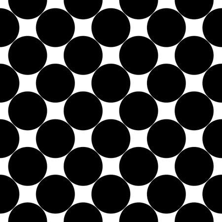 Seamless pattern. Big dots wallpaper. Circles ornament. Polka dot motif. Circular figures backdrop. Rounds background. Dotted motif. Digital paper, textile print, web design, abstract. Vector artwork.