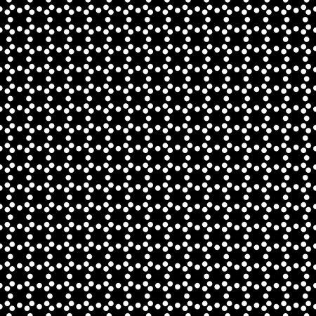 Circles seamless pattern. Dots ornament. Polka dot motif. Circular figures backdrop. Rounds background. Dotted wallpaper. Digital paper, textile print, web design, abstract image. Vector art