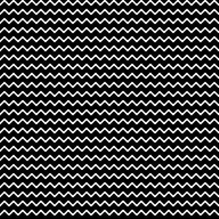 Zigzag lines ornament. Seamless pattern. Jagged stripes motif. Waves ornate. Curves image. Wavy figures background. Digital paper, textile print, web design, abstract illustration. Vector artwork.