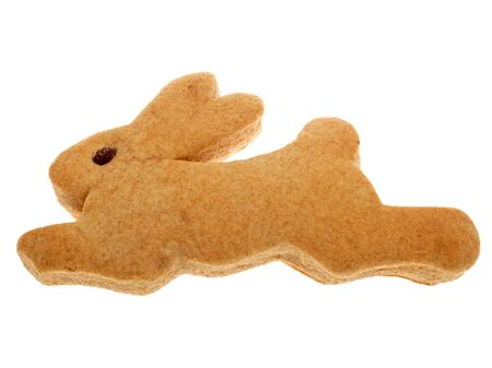 Homemade dough rabbit photo