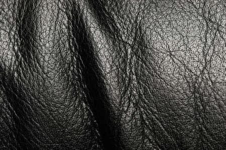 layer mask: Black leather surface with wrinkles