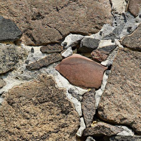 brickwork: Ancient brickwork Stock Photo