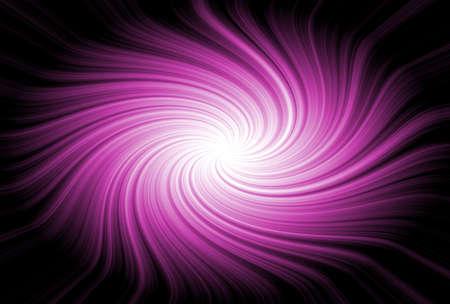 purple line on black background