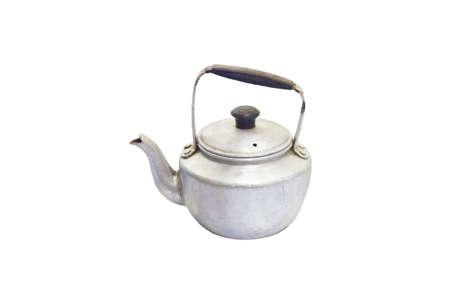 old Vintage tea pot isolated