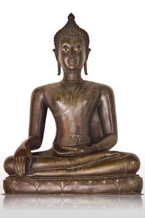 Buddha statue at thai temple Stock Photo