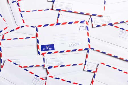 classic air mail envelope