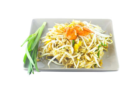 stir-fried rice noodles  Pad Thai