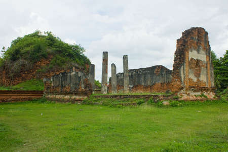 The ancient town in Lopburi, thailand Stock Photo