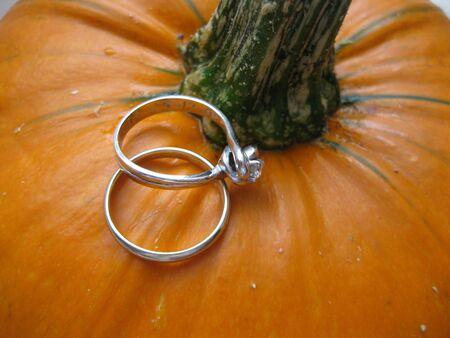 A halloween proposal photo