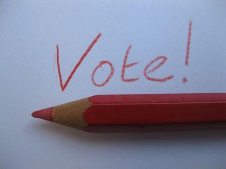 Vote 2008 Stock Photo - 3653343