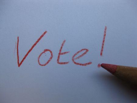 Vote 2008 Stock Photo - 3653345
