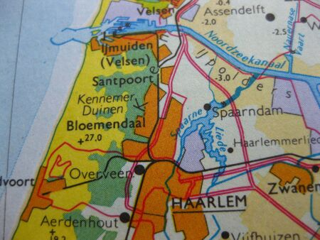 Map of West Holland Kennemerland photo