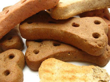 chew over: Delicious dogcookies Stock Photo