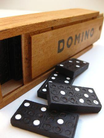 Everyday is domino day Stock Photo - 3853675