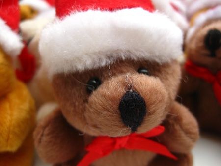 Christmas bear Stock Photo - 3874226
