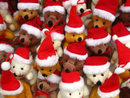 Christmas bears Stock Photo - 3887019