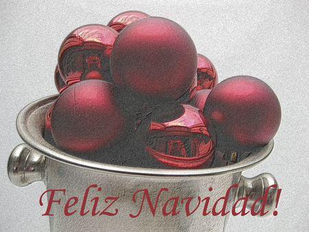 feliz navidad christmas card photo