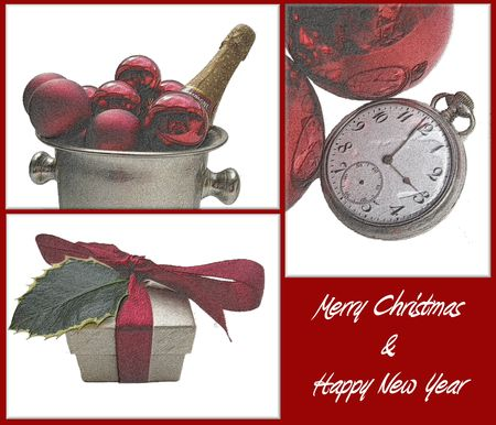 Christmas Card (artist impression-digital drawing) photo